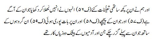 Surah Ha-Mim - Arabic Text with Urdu and English Translation